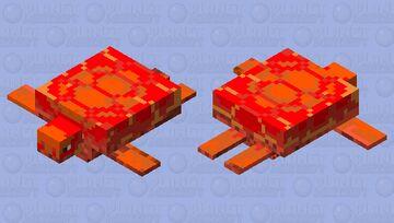 Autumn Turtle Minecraft Mob Skin