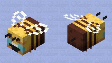 Memed Bee Minecraft Mob Skin