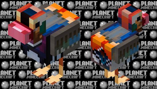 Mandarin Duck   SpindleCloud's 30 sub mandarin duck contest Minecraft Skin
