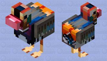 Mandarin Duck | SpindleCloud's 30 sub mandarin duck contest Minecraft Mob Skin