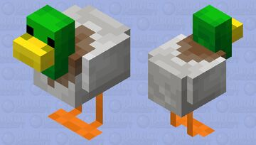 Duck Minecraft Mob Skin
