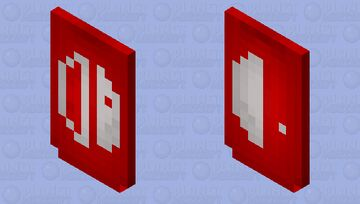 Nintendo switch logo (BETTER IN 3D) Minecraft Mob Skin