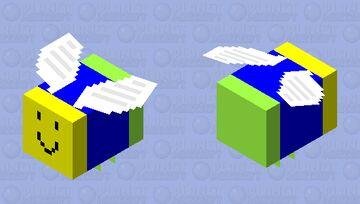 Roblox Noob Bee (Normal) Minecraft Mob Skin