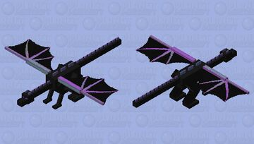 Better Ender Dragon Minecraft Mob Skin
