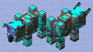 soul charged Ravager Minecraft Mob Skin