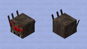 Baby Spider Minecraft Mob Skin
