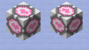 Companion Cube (Portal 2) Minecraft Mob Skin