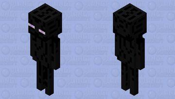 Super smash bros enderman Minecraft Mob Skin