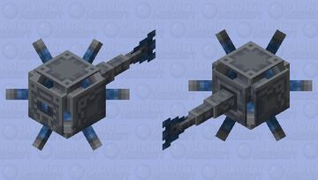 Ancient Machine Guardian Minecraft Mob Skin