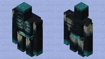 Warden as golem Minecraft Mob Skin