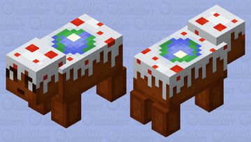 Cake piggy Minecraft Mob Skin