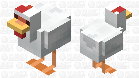 Hen Minecraft Skin