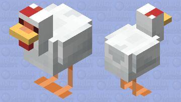 Hen Minecraft Mob Skin