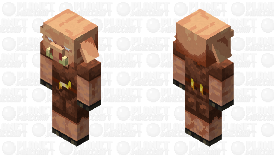 Piglin (realistic) Minecraft Skin