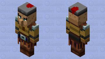 Villager guardian Minecraft Mob Skin