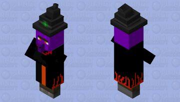 dark witch Minecraft Mob Skin