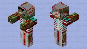 The zombie killer Minecraft Mob Skin