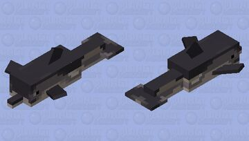 Atlantic White-Sided dolphin Minecraft Mob Skin