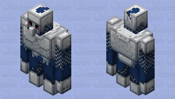 Iron Knight - Mobs Reimagined Entry Minecraft Mob Skin