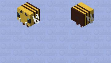 Bee with Fangs Minecraft Mob Skin