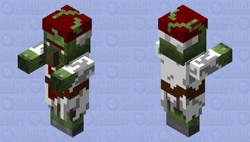 Knight Templar Zombie Villiager Minecraft Mob Skin
