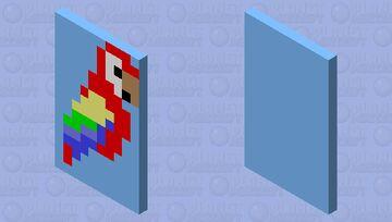 Parrot cape🦜 Minecraft Mob Skin