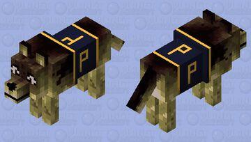 Police dog Minecraft Mob Skin