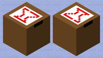 A Fragile Box Minecraft Mob Skin