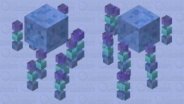 ❄ Frozen Slime Blaze Minecraft Mob Skin