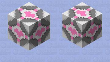Companion Cube (portal 1) Minecraft Mob Skin
