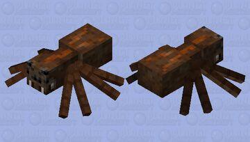 Wolf Spider Minecraft Mob Skin