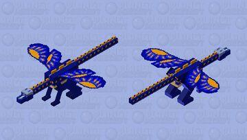 Swordtail wings of fire Minecraft Mob Skin