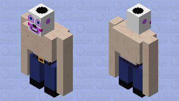 Buff Helpy Minecraft Mob Skin