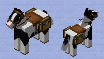Horse Realistic Minecraft Mob Skin