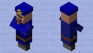 police Minecraft Mob Skin