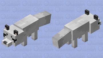 Marble Fox 01 Minecraft Mob Skin