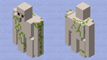 simplified golem Minecraft Mob Skin