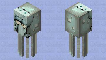 Squidward Squid Minecraft Mob Skin