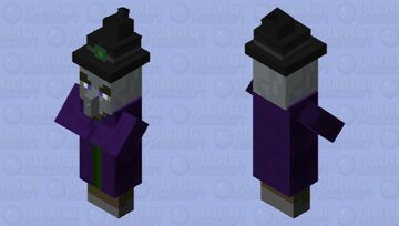 Pillager WItch Minecraft Mob Skin