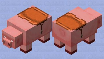 Big Pig (with mount/read the description) Minecraft Mob Skin