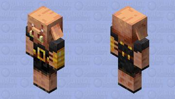 Piglin Brute 1.16 Minecraft Mob Skin