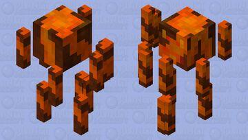 Magma / volcano blaze Minecraft Mob Skin