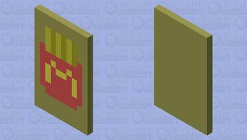 McDonalds ~ Fries Minecraft Mob Skin