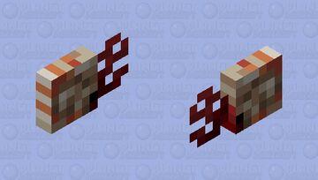 Chambered Nautilus Minecraft Mob Skin