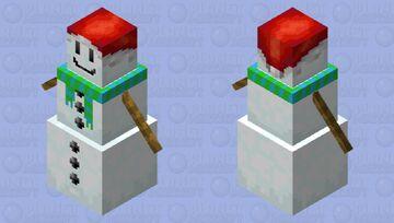 Festive Golem Minecraft Mob Skin