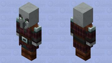 Here you go a Pillager are you happy Minecraft Mob Skin