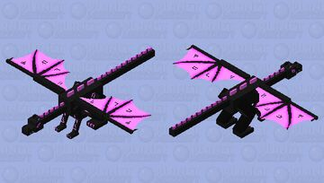 Enchanted Enderdragon (fixed) Minecraft Mob Skin