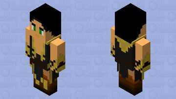Shang Tsung (Mortal Kombat 11 DLC) Minecraft Mob Skin