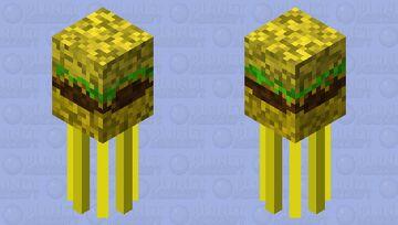 """Monster Burger"" Minecraft Mob Skin"