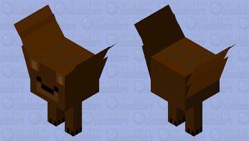 A strider, bur it's a bear Minecraft Mob Skin